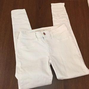 AEO   Jeggings   White   Size 4